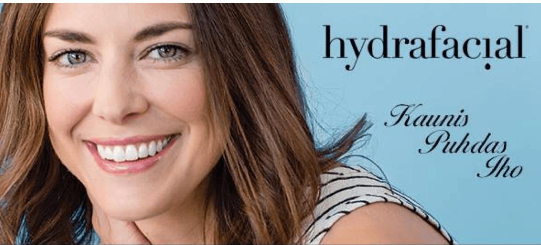 Hydra facial hoito